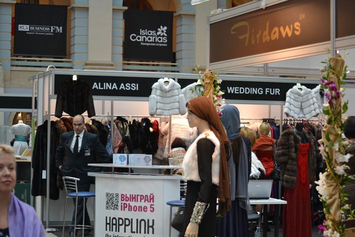 Wedding fur-участник недели моды